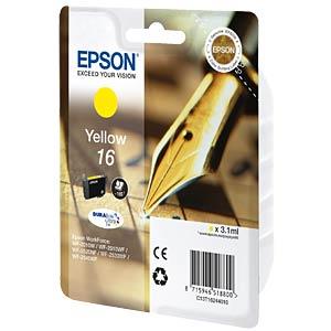 Tinte - Epson - gelb - T1624 - original EPSON C13T16244012