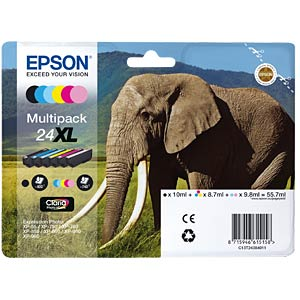 Multi-pack XL: Expression Photo XP-750 EPSON C13T24384011