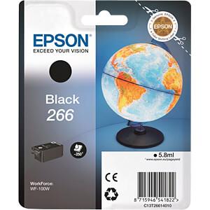 Tinte - Epson - schwarz - T266 - original EPSON C13T26614010
