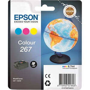 Tinte - Epson - 3-Color - T267 - original EPSON C13T26704010