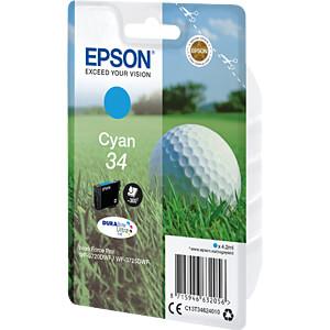 Tinte - Epson - cyan - 34 - original EPSON C13T34624010