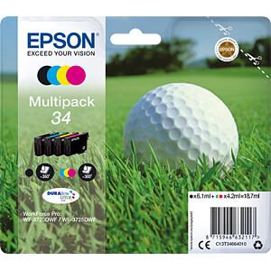 Ink - Epson - Multipack - 34 - original EPSON C13T34664010
