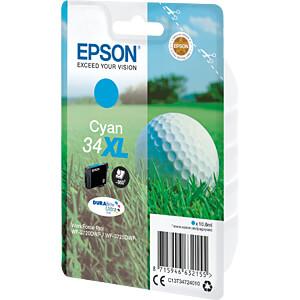 Tinte - Epson - cyan - 34XL - original EPSON C13T34724010