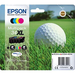 Tinte - Epson - Multipack - 34XL - original EPSON C13T34764010
