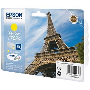 Encre T7024 jaune EPSON C13T70244010