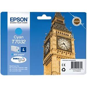 Tinte - Epson - cyan - T7032 - original EPSON C13T70324010