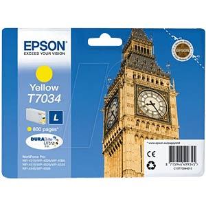 Tinte - Epson - gelb - T7034 - original EPSON C13T70344010