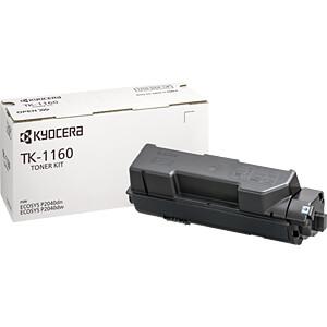 Toner - Kyocera - schwarz - TK-1160 - original KYOCERA 1T02RY0NL0