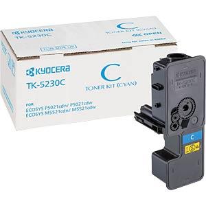 Toner - Kyocera - cyan - TK-5230C - original KYOCERA 1T02R9CNL0