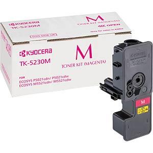 Toner - Kyocera - magenta - TK-5230M - original KYOCERA 1T02R9BNL0