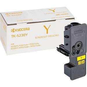 Toner - Kyocera - gelb - TK-5230Y - original KYOCERA 1T02R9ANL0
