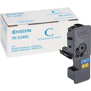Toner - Kyocera - cyan - TK-5240C - original KYOCERA 1T02R7CNL0
