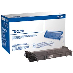 Toner - Brother - schwarz - TN-2320 - original BROTHER TN-2320