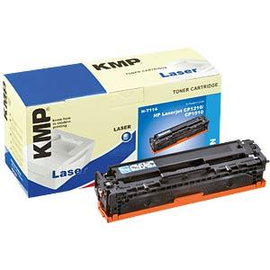 Toner - HP - cyan - 125A - rebuilt KMP PRINTTECHNIK AG 1216,0003