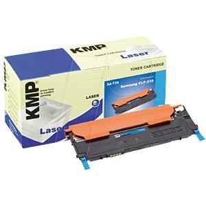 Cyan toner for SAMSUNG CLP-310, CLP-315 KMP PRINTTECHNIK AG 1363,0003
