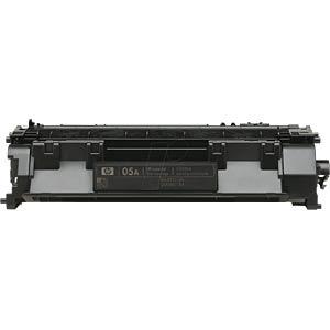 Toner - HP - schwarz - 05A - original HEWLETT PACKARD CE505A
