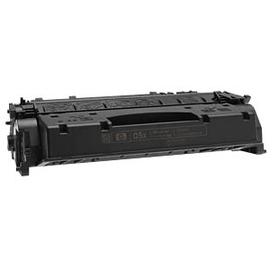Toner - HP - black - 05X - original HEWLETT PACKARD CE505X