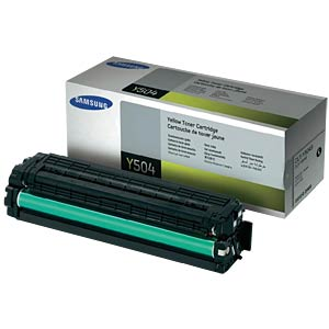 Toner for SAMSUNG CLP-415…, yellow SAMSUNG CLT-Y504S/ELS