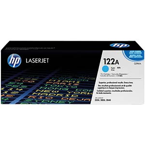 Toner for HP LaserJet Color 2550/2840, cyan HEWLETT PACKARD Q3961A