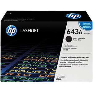 Toner for HP LaserJet 4700DN, black HEWLETT PACKARD Q5950A