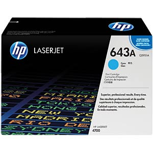 Toner - HP - cyan - 643A - original HEWLETT PACKARD