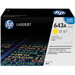 Toner for HP LaserJet 4700DN, yellow HEWLETT PACKARD Q5952A