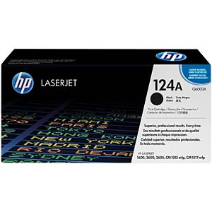 Toner for HP ColorLaser 2600N…, black HEWLETT PACKARD Q6000A
