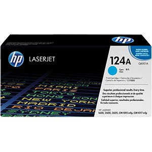 Toner for HP ColorLaser 2600N…, cyan HEWLETT PACKARD Q6001A