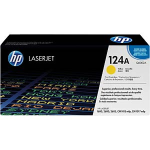 Toner for HP ColorLaser 2600N…, yellow HEWLETT PACKARD Q6002A