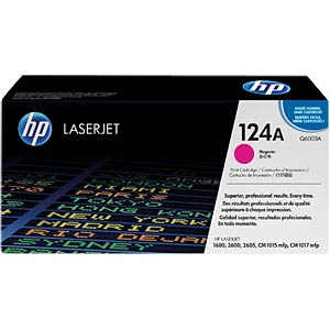 Toner for HP ColorLaser 2600N…, magenta HEWLETT PACKARD Q6003A