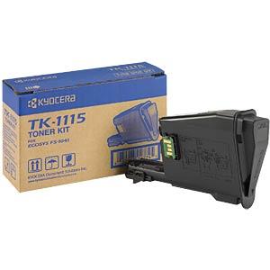 Toner - Kyocera - schwarz - TK-1115 - original KYOCERA 1T02M50NL0