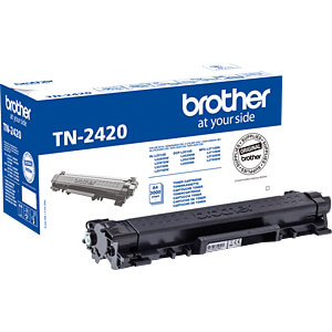 Toner - Brother - schwarz - TN2420 - original BROTHER TN2420