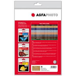 DIN A4, Inkjet, Fotopapier, 260 g/m², 20 Blatt AGFAPHOTO AP26020A4