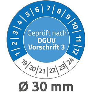 Prüfplaketten: Geprüft nach DGUV Vors. 3 AVERY ZWECKFORM 6976