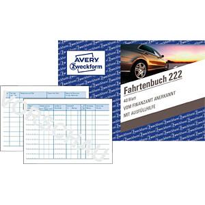 AVZ 222 - AVERY Zweckform Fahrtenbuch PKW