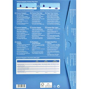 DIN A4, Inkjet, Fotopapier, 250 g/m², 40 Blatt AVERY ZWECKFORM 2739