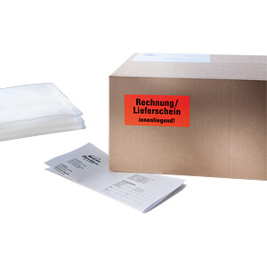 Warnetiketten, 7212, 100x50mm, neonrot AVERY ZWECKFORM 7212