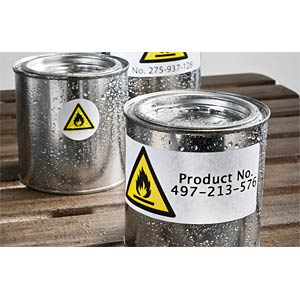 Folien-Etiketten, wasserfest, 99,1 x 139 mm, 32 Stück, weiß AVERY ZWECKFORM L4774-8