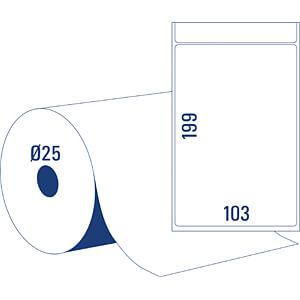 Thermodirekt Versandetiketten 103x199mm AVERY ZWECKFORM TD8060-25
