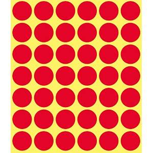 Markierungspunkte, permanent, Ø 18 mm, 1056 Stück, rot AVERY ZWECKFORM 3374