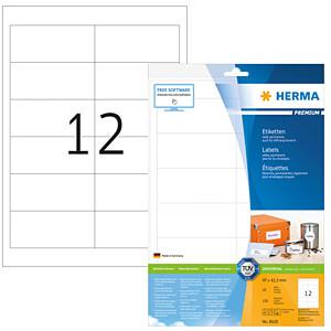 HERMA 8628 - PREMIUM Etiketten A4