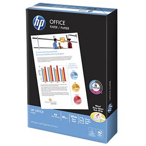 500 sheets of paper DIN A4, 80 g/m² HEWLETT PACKARD CHP110