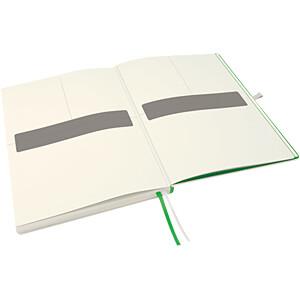 Leitz Notizbuch A4 kariert, fester Einband, weiß LEITZ 44710001