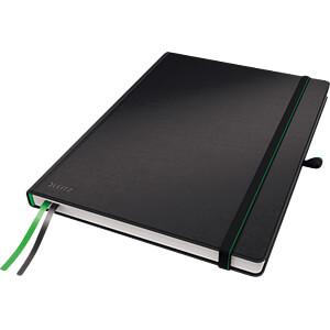 Leitz Notizbuch A4 kariert, fester Einband, schwarz LEITZ 44710095