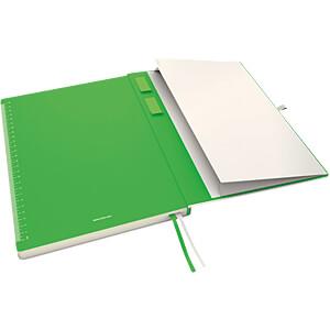 Leitz Notizbuch A4 liniert, fester Einband, weiß LEITZ 44720001