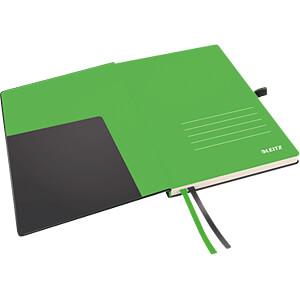Leitz Notizbuch A5 kariert, fester Einband, schwarz LEITZ 44770095