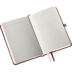 Leitz Notizbuch A6 liniert, Hardcover, rot LEITZ 44890028