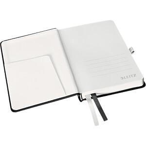 Leitz Notizbuch A6 liniert, Hardcover, schwarz LEITZ 44890094