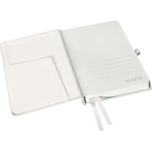 Leitz Notizbuch A6 kariert, Hardcover, weiß LEITZ 44910004