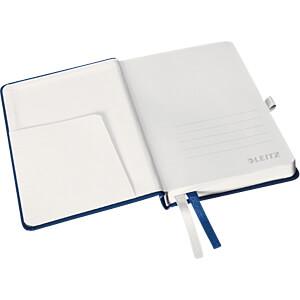 Leitz Notizbuch A6 kariert, Hardcover, blau LEITZ 44910069